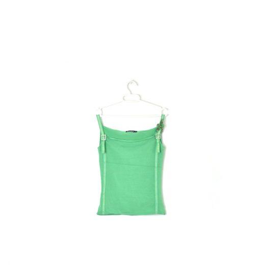 Camiseta verde tiras Pedro del Hierro