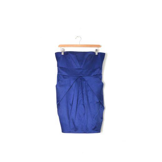 Vestido palabra honor azul Formula Joven