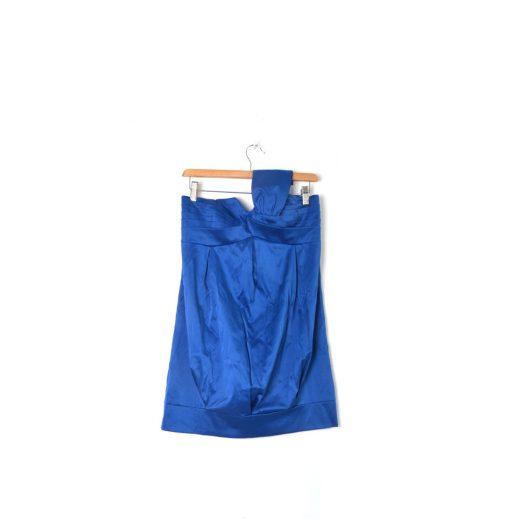 Vestido azul corto una tira de la marca Blanco