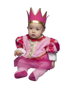 disfraz bebe princesa rosa bt costumes