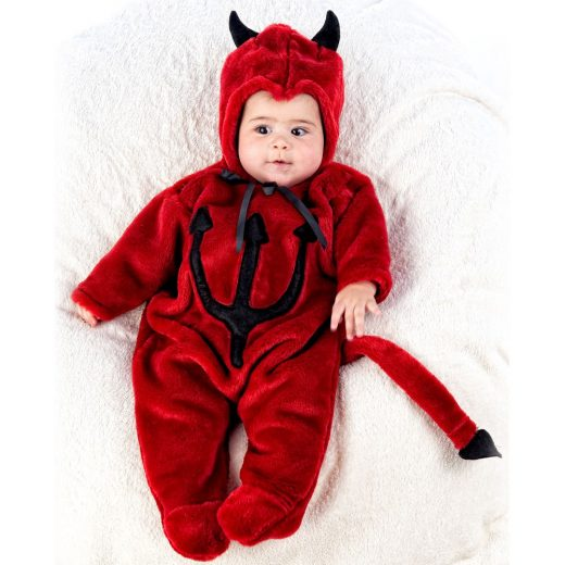 disfraz diablo bebe