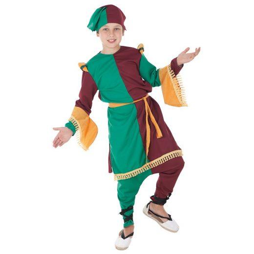 Disfraz medieval Juglar niño infantil llopis