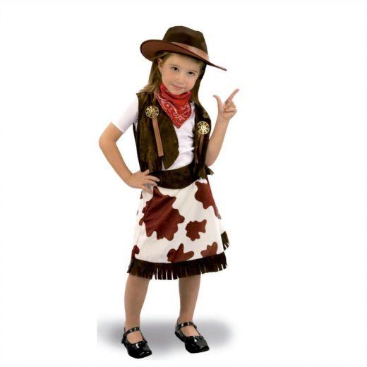 Disfraz vaquera infantil bt costumes