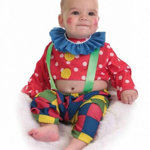 disfraz payaso spotty bebe