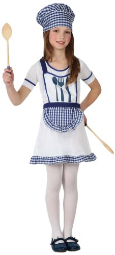 disfraz cocinera atosa