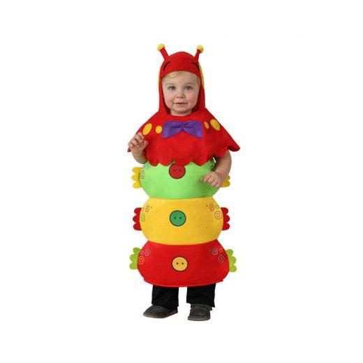 disfraz de gusano para bebe atosa