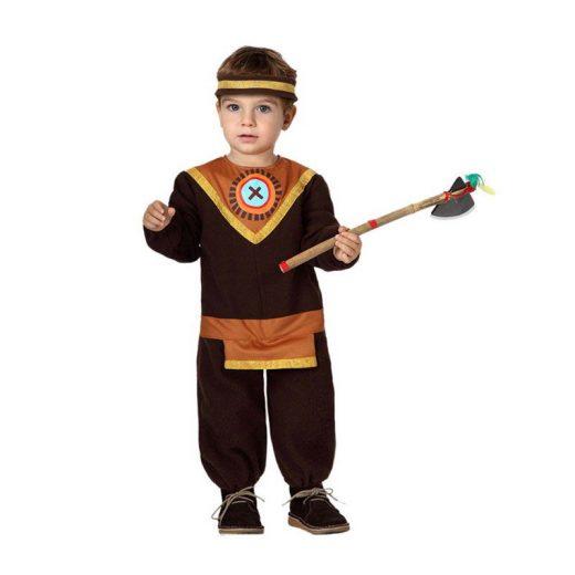 disfraz de indio marron atosa