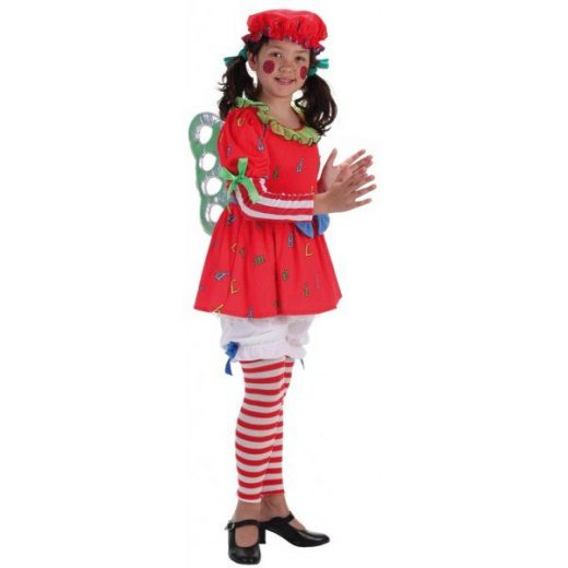 disfraz muñeca cuerda infantil llopis
