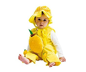 disfraz piña bebe Josman
