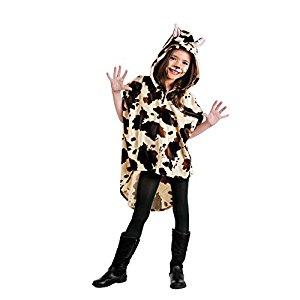disfraz poncho vaca limit