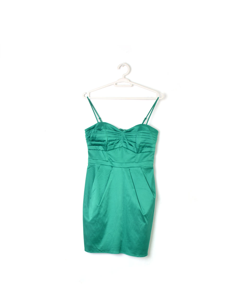 Vestido verde h y m