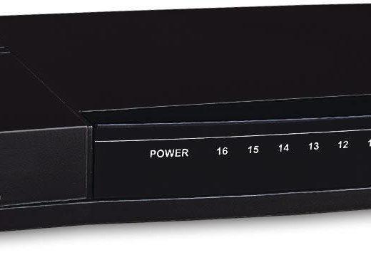 Deskpot Switch de 16 puertos EVO-FSH16C ovislink