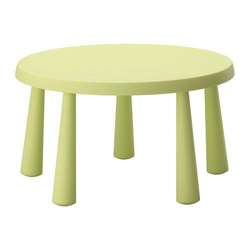 mesa ikea verde mammut infantil