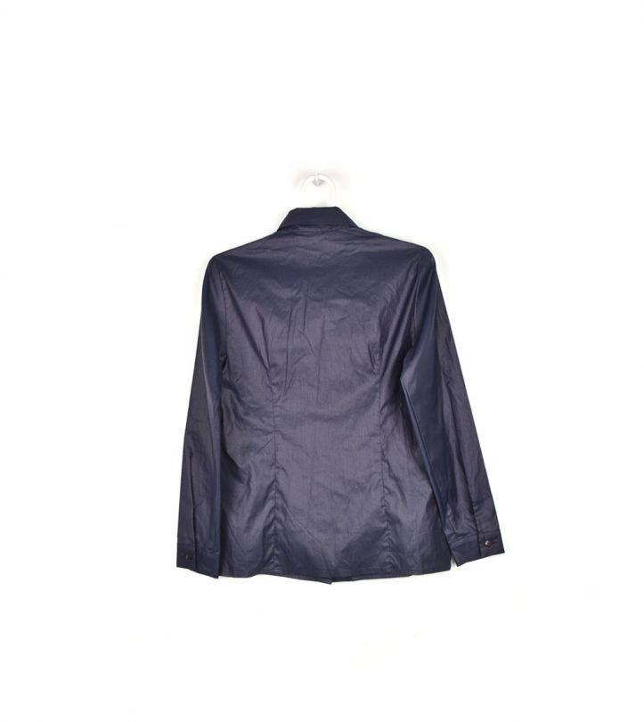 camisa azul marino intermoda