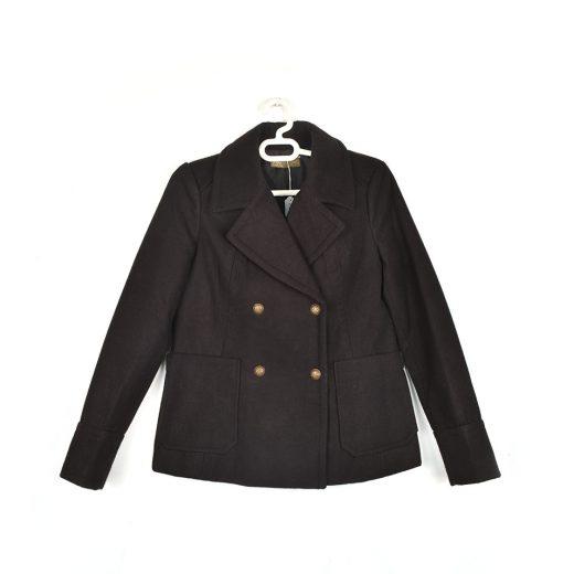 Abrigo corto negro Sfera
