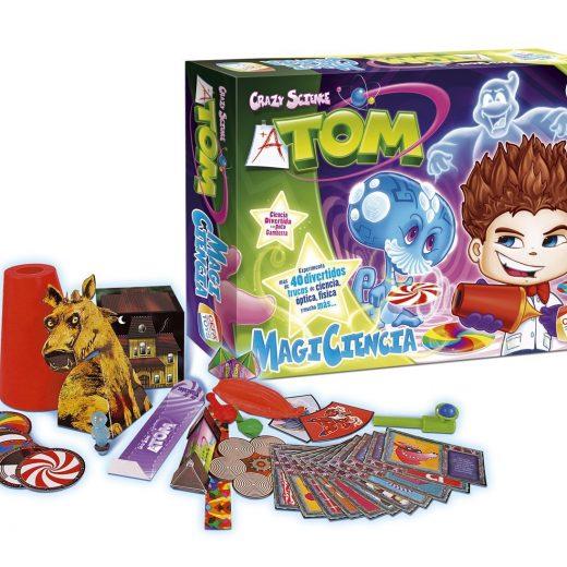 juego de mesa infantil magiciencia crazy science