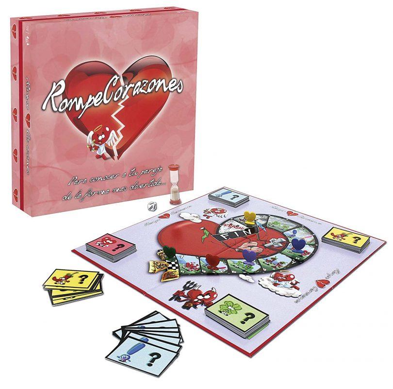 juego de mesa rompecorazones +18 tablero y caja