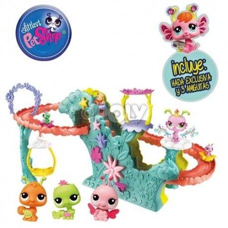 juego infantil littlest-pet-shop-el-parque-de-las-hadas hasbro