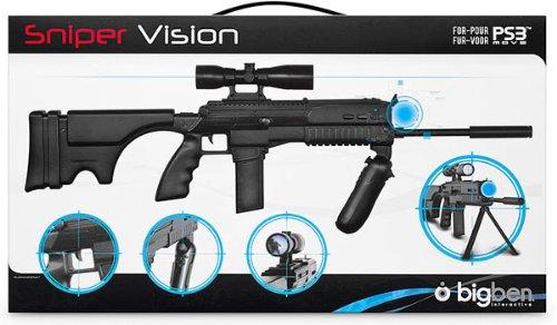 pistola sniper vison para ps3