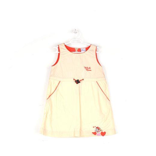 vestido minnie beige frente