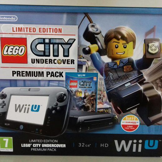 Consola Wii U Premium 32GB HD + LEGO CITY UNDERCOVER