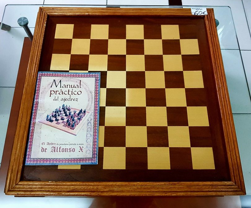 ajedrez porcelana alfonso x