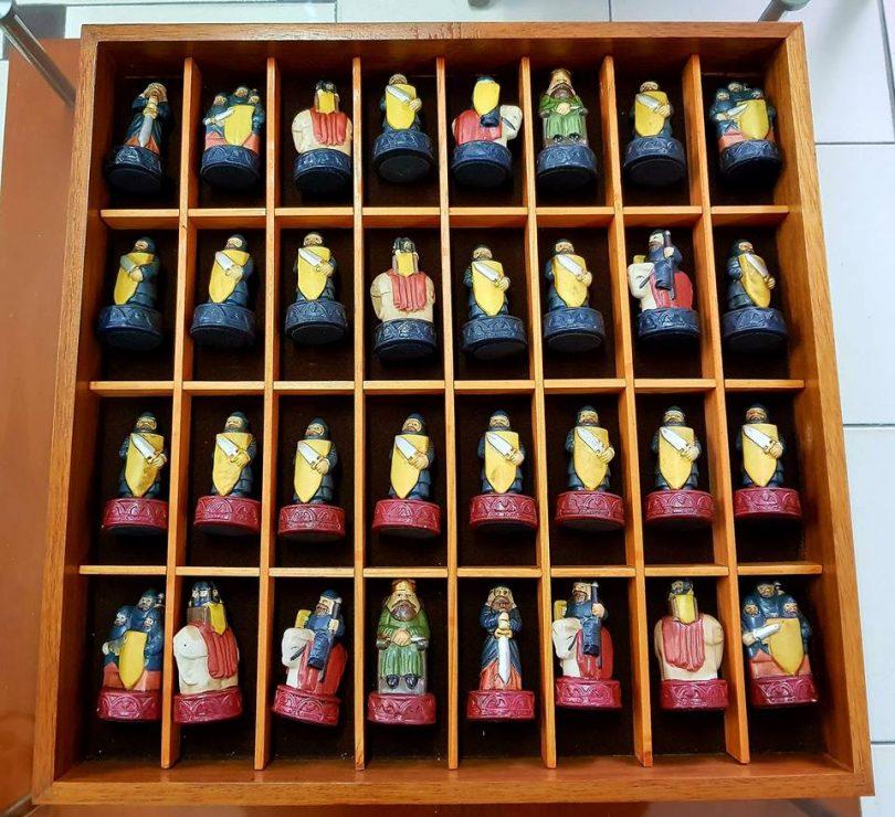 figuras ajedrez porcelana alfonso x