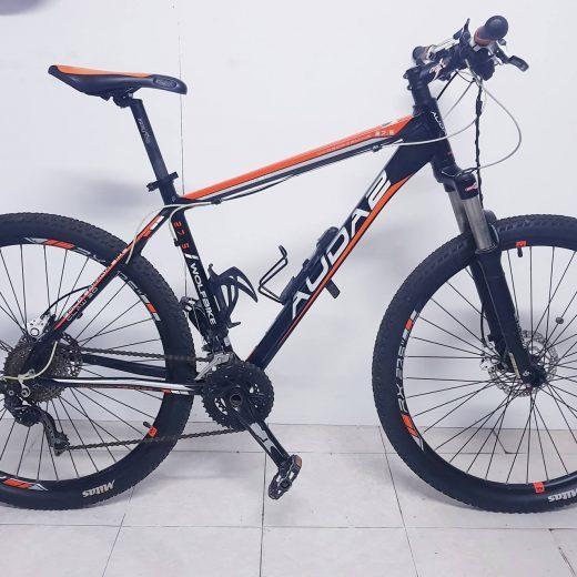 Bicicleta Wolfbike 27.5 AUDA 2 Gold Edition Bike Claw 3D