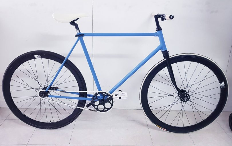 Bicicleta de Fixie urbana
