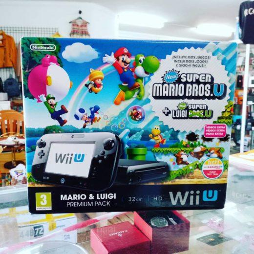 Wii U New Super Mario + Luigi Pack Completo