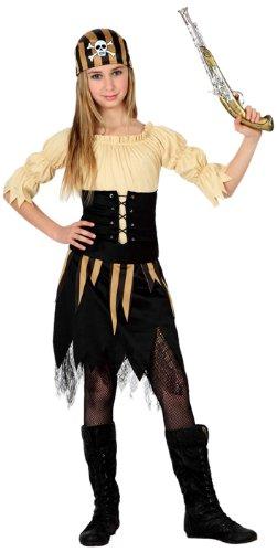 Disfraz pirata niña infantil Atosa