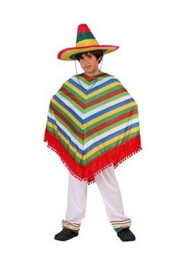 disfraz mexicano infantil atosa