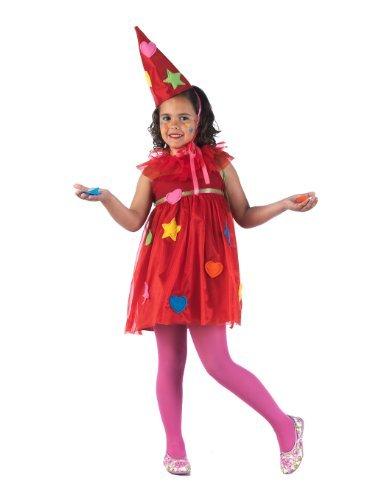 disfraz hada parchis rojo y corazones infantil limit