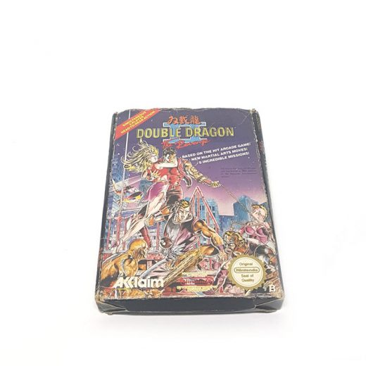 VIDEOJUEGO NES DOUBLE DRAGON 2: the revenge