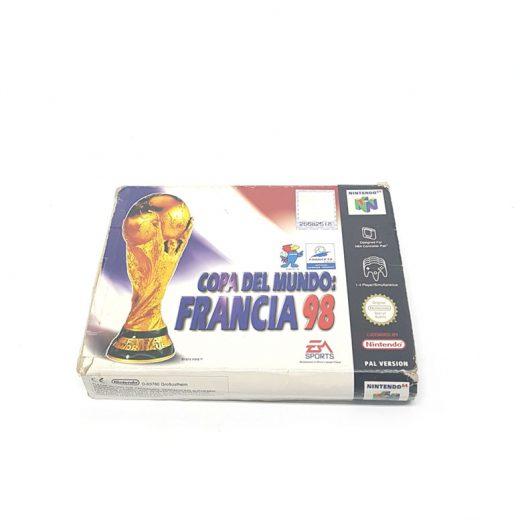 VIDEOJUEGO NINTENDO 64 COPA DEL MUNDO FRANCIA 98 FRENTE