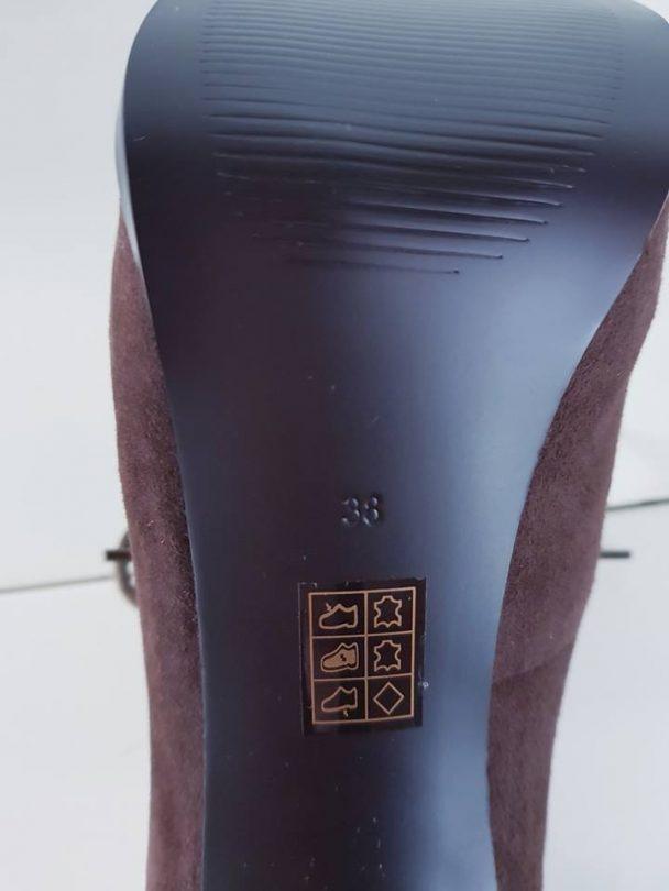 Zapatos tacon plataforma abotinados piel GUESS composición