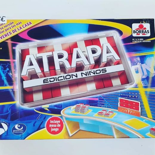 Juego de Mesa Atrapa Edición Niños Borrás