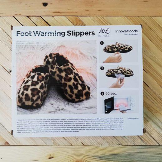 Zapatillas Calientapiés para Microondas