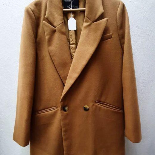 Abrigo/americana/blazer otoño color Marrón