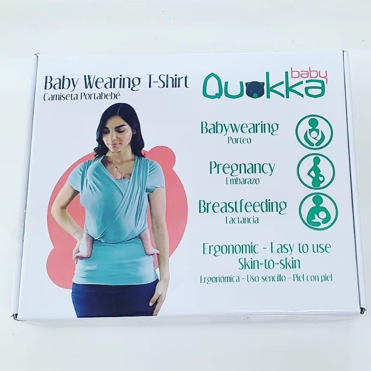 Camiseta PortaBebés y Embarazo QuokkaBaby