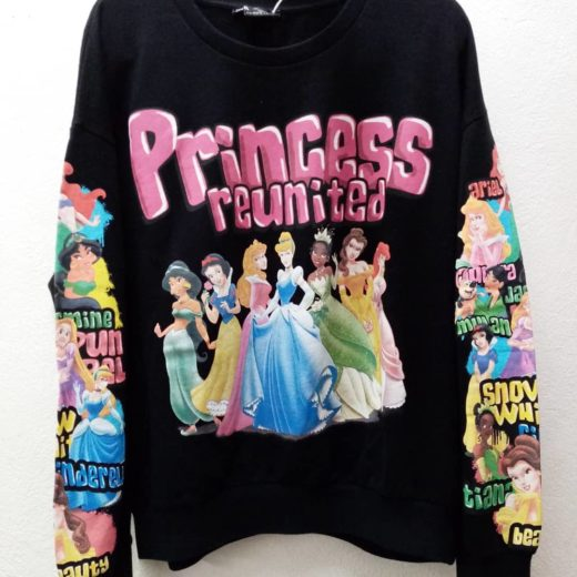 Sudadera Princesas Disney ZARA