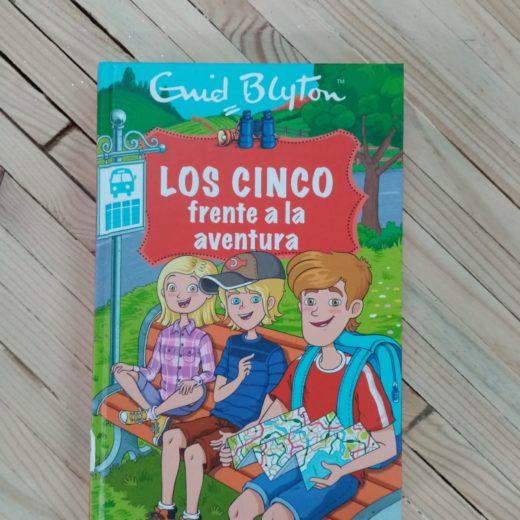 Libro LOS CINCO frente a la aventura