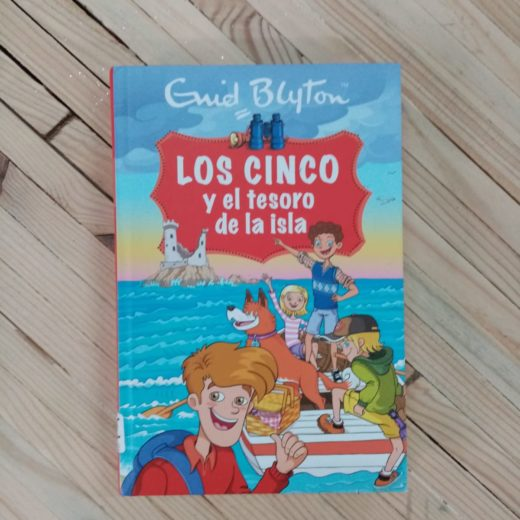 Libro LOS CINCO y el tesoro de la isla