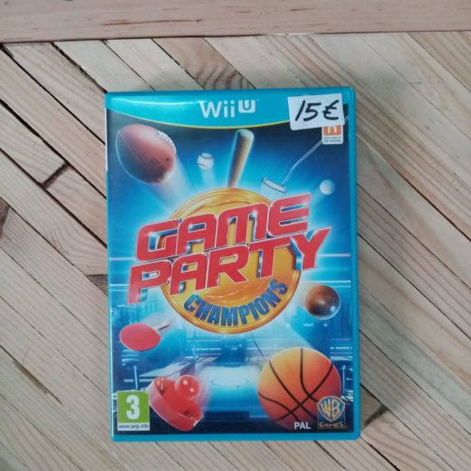 Juego Wii U Game Party Champions