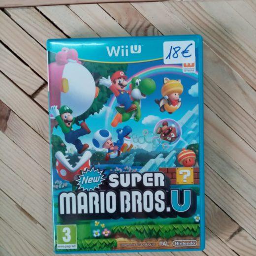 Juego Wii U New Super Mario Bros U