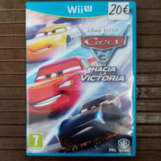 Juego Wii U Cars 3 Hacia la victoria