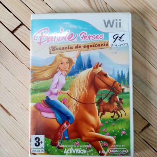 Juego Wii Barbie Horses Escuela de equitación