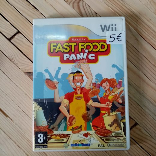 Juego Wii Fast Food Panic