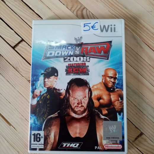 Juego Wii SmackDown vs Raw 2008