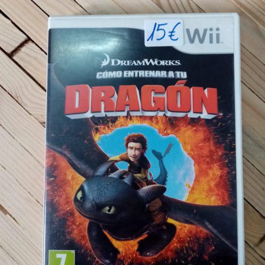 Juego Wii Cómo entrenar a tu Dragón
